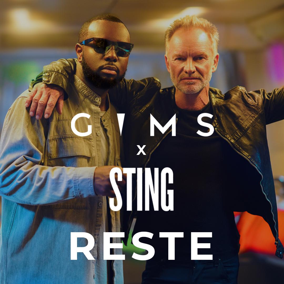 Gims - Reste (en duo avec Sting)